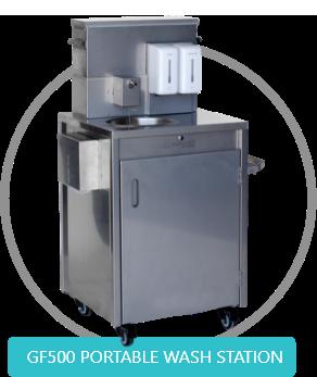 GF500 Portable hand wash station