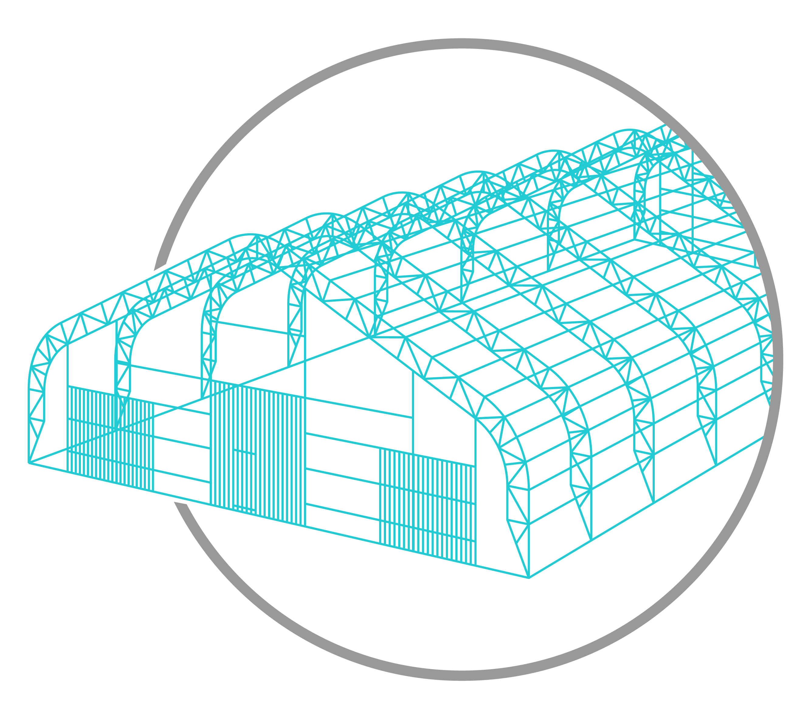 Prototype tent structure drawing